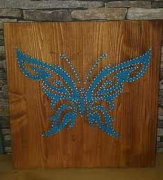 String Art Schmetterling