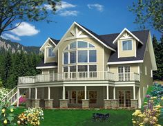 House Plan 85339 |  Plan with 2307 Sq. Ft., 3 Bedrooms, 3 Bathrooms, 3 Car Garage