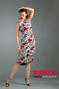 NEW Tango Reversible MIMOSA Dress Floral Print Milonga Low