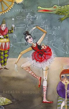 Szegedi Katalin - illustration from Tales from the Operahouse