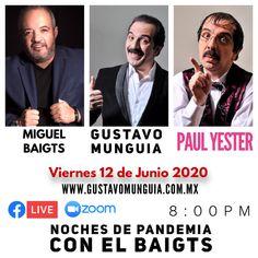 Entrevista con el Baigts a Gustavo Munguia Interview, Night