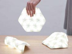 Kangaroo: A Portable Light That's Also Flexible - Design Milk Design Despace, Deco Design, Lamp Design, Lighting Design, House Lighting, Clever Design, Interior Lighting, Modern Lighting, Design Ideas