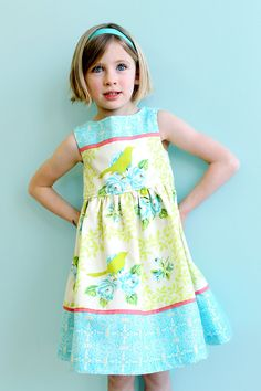 READY to SHIP  Girls Spring Easter Dress   by LottieDaBaby on Etsy, $64.00