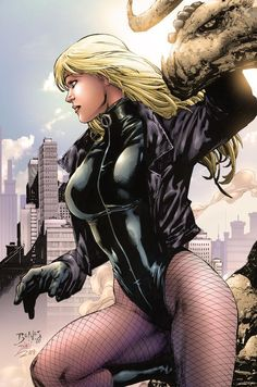 """thebestofwomenincomics: """" The Black Canary one of my favorite images of Dinah, by Ed Benes """" DC Comics Comic Book Characters, Comic Character, Female Characters, Comic Books, Character Design, Marvel Comics, Marvel Dc, Disney Marvel, Psylocke"""