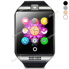 Q18(Apro) Smart Watch Phone 2.5D Curve Screen NFC Compass 1.3MP Camera Pedometer Sedentary Reminder Sleep Monitor E-486140-C9