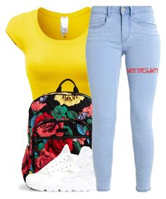 """"""""""" by wntrtimeshawty ❤ liked on Polyvore featuring Vera Bradley and NIKE"""