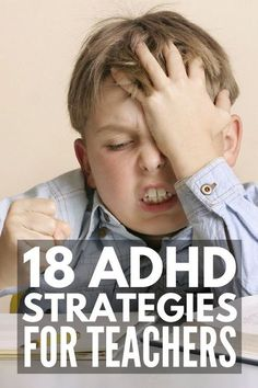 18 of our best teaching tips and ADHD strategies to make ADHD in the classroom more manageable for students and teachers alike! Adhd Strategies, Teaching Strategies, Teaching Tips, Behaviour Management, Classroom Management, Planning School, Adhd Help, Behavior Interventions, Adhd Kids