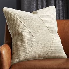 Shop Bias Black and White Chevron Pillows. Offset chevrons create an optical illusion on a black and white wool blend. Woven like a traditional flat-weave dhurrie, graphic pillow adds a bit of texture to the sofa, chair or bed. Reverses to solid white. Pink Fur Pillow, Navy Pillows, Cowhide Pillows, Yellow Pillows, Velvet Pillows, Linen Pillows, Throw Pillows, Accent Pillows, Throw Blankets