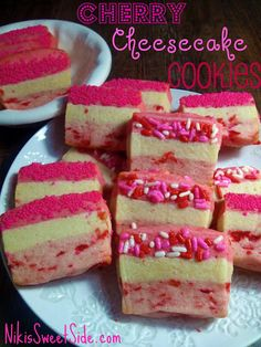 Cherry Cheesecake Cookies.This looks really nice.Please check out my website thanks. www.photopix.co.nz