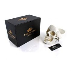 Coole #Totenkopf #Skull Aufbewahrungsschale für eure #Wohnung. Mehr coole Produkte, #Geschenkideen & #Gadgets auf www.devallor.de --> Make it yours!