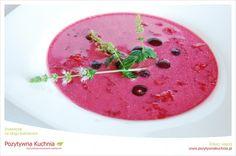 Zupa wiśniowo-cynamonowa - #przepis na zupę z wiśni  http://pozytywnakuchnia.pl/zupa-wisniowo-cynamonowa/  #zupa #wisnie #obiad