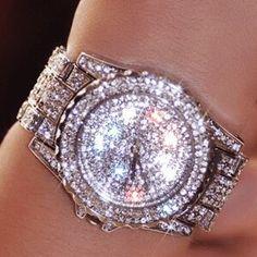 Luxury Women Rhinestone Watch - http://hiphopboutiques.com/product/luxury-women-watches-fashion-woman-rhinestone-watch-austria-crystal-ceramic-watches-female-quartz-wristwatches-lady-dress-watch/