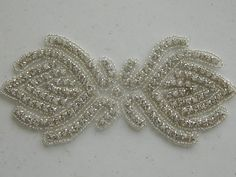 Accessoires mariées cristal appliques par AppliqueRhinestones