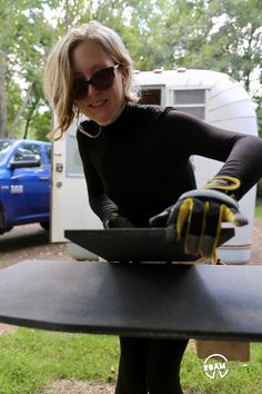 Wings distinguish a camper from most any other kind and when the time comes to replace them, it is a BIG DEAL. Do It Yourself Camper, Slide In Truck Campers, Roof Hatch, Camper Renovation, Diy Camper, Remodeled Campers, Rv Living, Wings, Trucks