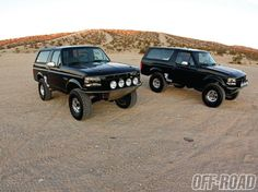 Tony Rojo's 1993 Ford Bronco and Vic Rojo's 1996 Ford Bronco are more then just a hobby for these brothers. They're a rolling tribute to dad Victor Rojo Sr.