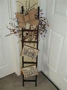 "Welcome Friends"" Tobacco Stick Ladder | Crafts #2"
