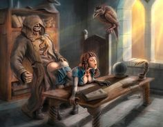 """Check out new work on my @Behance portfolio: """"witch trainer"""" http://be.net/gallery/32476771/witch-trainer"""