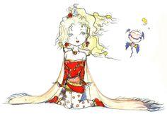 Yoshitaka Amano - Terra Bradford - Final Fantasy VI