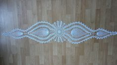 Bieżnik na szydełku krok po kroku 1/3 #CrochetDoily Crochet Videos, Crochet Necklace, Diy, Youtube, Video Tutorials, Flower, Binder, Crochet Collar, Do It Yourself