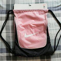 Brand new pink Nike drawstring bag New Nike drawstring bag Nike Bags Backpacks