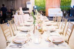 Simple Rustic Table Setting | Photo: Law Tapalla Photography