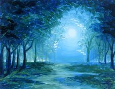 Paint Nite - Mystical Grove