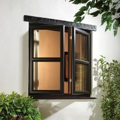 View our gallery of uPVC and aluminium windows. Get in contact today to discuss your uPVC needs. Casement Windows, Windows And Doors, Double Glass Windows, Double Glazed Window, Black Window Frames, Living Room Windows, Cottage Windows, Window Grill, Windows