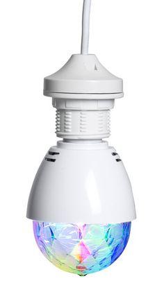 LED-discolampa, roterande - Ljuskällor - Rusta