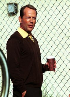 """this pic brings back happy memories of my """"Moonlighting"""" mad crush on Bruce Willis in the 80s :)"""