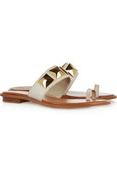 Persia studded leather sandals by Michael Michael Kors