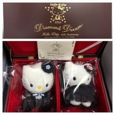 SANRIO Diamond Dream Hello Kitty Dear Daniel 25th Anniversary Plush Toy 300 Ltd