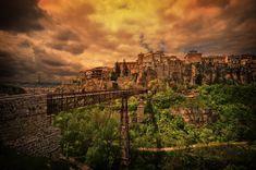 30 Cliff-side Villages  30) Cuenca, Spain