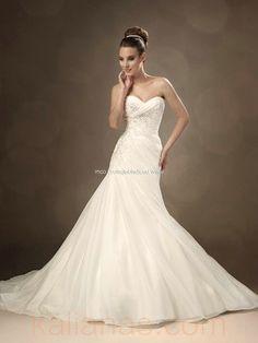 wedding dress - Style Sophia Tolli Octavia Strapless sweetheart neckline A-Line Lace Beading Appliques www.kalianas.com