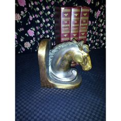 Horse Head Bookend/Paperweight ($76) ❤ liked on Polyvore featuring home, home decor and office accessories