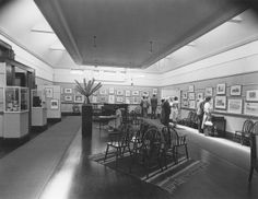 Contemporary British Prints and Drawings exhibition, Hawke's Bay Museum and Art Gallery, collection of Hawke's Bay Museums Trust, Ruawharo Tā-ū-rangi, 5492 a Museums, Trust, Art Gallery, Lens, Photo Wall, British, Contemporary, Drawings, Prints