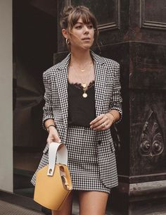 casual blazer outfits - business professional outfits for interview Mode Outfits, Office Outfits, Fall Outfits, Fashion Outfits, Womens Fashion, Office Attire, Office Uniform, Night Outfits, Fashion Clothes