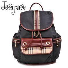 Fashion Lady Multifunction Unisex Polyester Laptop Hiking Travel Backpack Bag