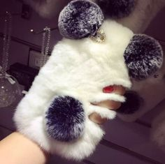Details about Cute Bling Furry Panda Bear Soft Rabbit Fur Ca.- Details about Cute Bling Furry Panda Bear Soft Rabbit Fur Case Cover for iPhone Xs Max Xr 7 - Fluffy Phone Cases, Cute Phone Cases, Iphone Phone Cases, Iphone 7 Plus Cases, Phone Covers, Case For Iphone, Iphone Camera, Capa Iphone 6 Plus, Galaxy Note