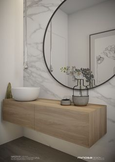 Minosa Design: Powder Room - The WOW bathroom