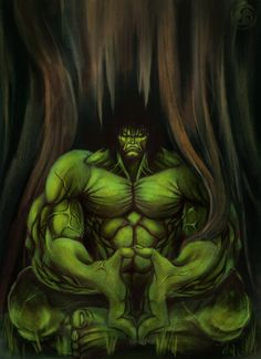 #Hulk #Fan #Art. (Hulk meditation) By: IX-S. (THE * 5 * STÅR * ÅWARD * OF: * AW YEAH, IT'S MAJOR ÅWESOMENESS!!!™)[THANK Ü 4 PINNING!!!<·><]<©>ÅÅÅ+(OB4E)