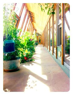 Earthship Visitor Center in Tres Piedras, NM