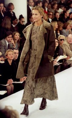 Pin for Later: We Pledge Allegiance to the Fashion of the United States of America Lauren Hutton Modeling For Calvin Klein in 1993 This South Carolina-born beauty, who appeared on 26 Vogue covers, is so timeless, she continues to front brands like The Row and Calvin Klein.