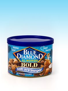 Blue Diamond Bold Flavors : Salt 'n Vinegar!!! Awesome flavor! A coworker let me try them, I wanted to take the whole container! Will be looking for these REAL soon. (1 PPV for about 28)