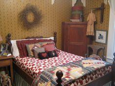 Primitive Bedroom.