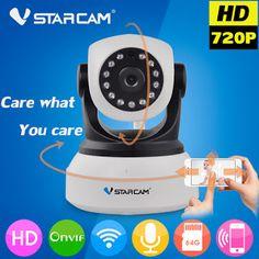 Vstarcam C7824WIP Wifi Camera IP Wireless WIFI CCTV Camera Security Surveillance Camara Onvif P2P Motion Detection Indoor Cam (1000001351289)  SEE MORE  #SuperDeals