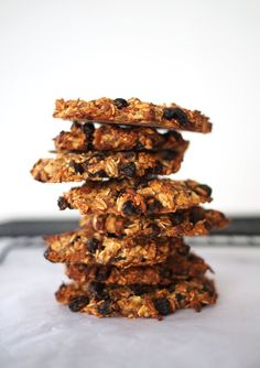 Banana Oat Breakfast Bars - vegan, gluten free and dairy free