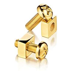 nuts & bolts cufflinks #Cufflink #Christmas #hardware