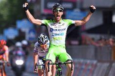Nicola Boem vince la 10°tappa Civitanova Marche-Forlì di 200 km.Contador mantiene la maglia rosa