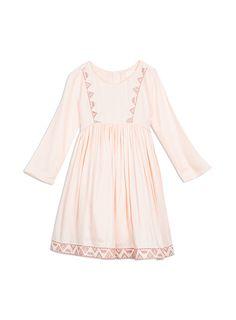 Powder pink emb dress / Pumpkin Patch