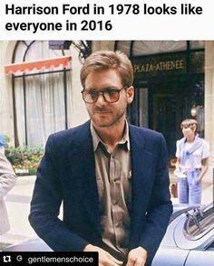 Harrison Ford is my Spirit Animal.  via @gentlemenschoice